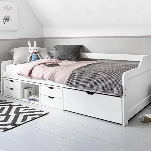 Eva Day - Cabina de cama con cajones extraibles