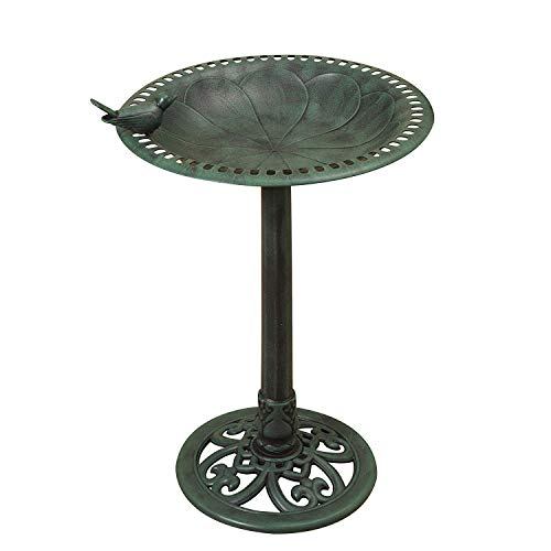 Iron Copper Birdbath Wrought - Gerson Premium Fancy 30