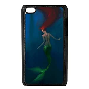 EZCASE Mermaid Phone Case For Ipod Touch 4 [Pattern-2]