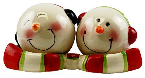Snowman Salt And Pepper Shakers - Jolly Snowman Salt & Pepper Shaker