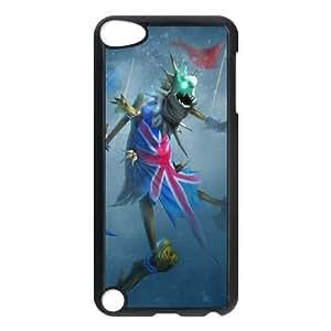 iPod Touch 5 Case Black League of Legends Union Jack Fiddlesticks YD590688
