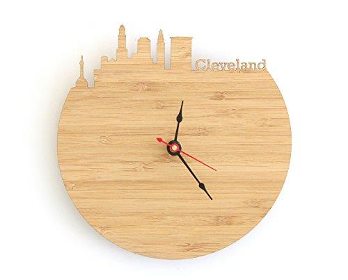 Cleveland Skyline Clock