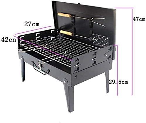 DDL Barbecue Portable extérieur Charbon Ménage Portable Boîte Barbecue Four Barbecue