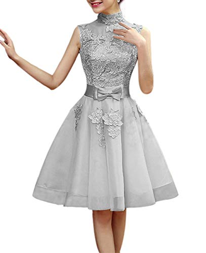 Jkara Woman Beaded Chiffon Gown - Extra Charge This is NOT Dress HFY132 Silver