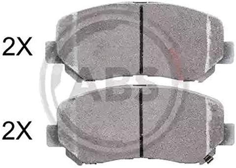 Abs Kit 4 pastiglie freno posteriori ECP Kit 4 pastiglie freno anteriori Ecommerceparts 9145375009188
