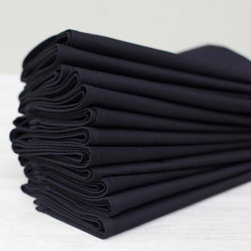 Linenme - Servilletas (algodón, 45 x 45 cm, 12 Unidades), Color ...