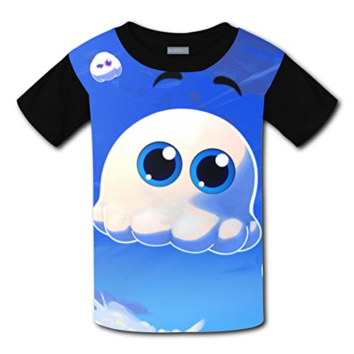 100% Cotton New Trendy T-Shirts 3D Create My Own With Ghost For Boy Girl L