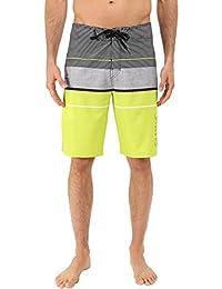 Silwave Men's Navigator High Performance Board Shorts, Lime, Size 36