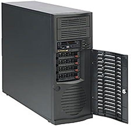 Supermicro CSE-733T-500B Carcasa de Ordenador - Caja de Ordenador (Midi-Tower, PC, EATX, 500W, 1x 92 mm, HDD, LAN, Poder, Si) Negro: Amazon.es: Informática