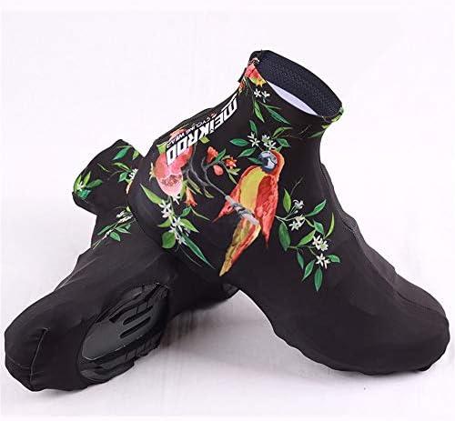 シューズカバー 靴のほこり風風ロック靴をサイクリングアウトドアスポーツの男性と女性 通勤 通学 自転車用 (Color : Main color, Size : XL)