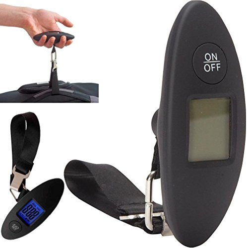 1 Portable Lcd Digital Luggage Baggage Fish Hanging Electronic Weight Scale Hook