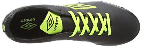 Umbro Velocita Premier Hg - Botas de fútbol de sintético para hombre negro - Black (DKB)