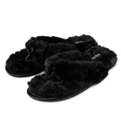 75e6ed185df2 Fuzzy House Slippers for Women – Comfortable Furry Spa Thongs .