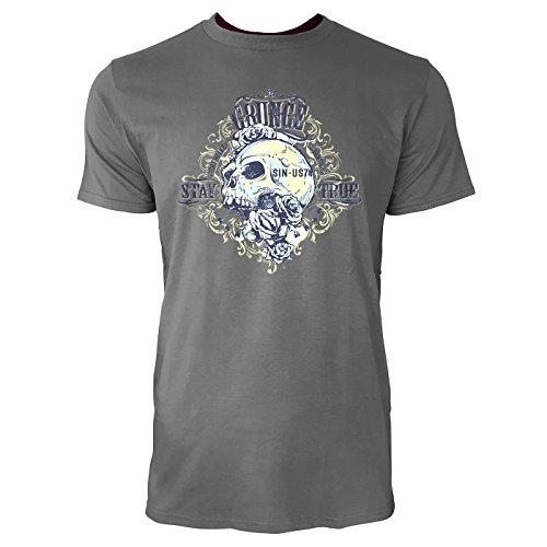 SINUS ART ® Totenschädel mit Rosen