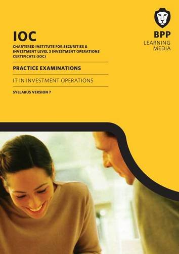 Download IOC IT in Investment Operations Syllabus Version 7: Syllabus version 7: Practice Exams pdf