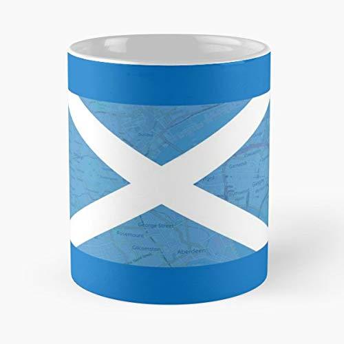 Saltire Saint Andrews Flag Edinburgh Glasgow Dundee Aberdeen Scotland National - Best Independence Day Gift