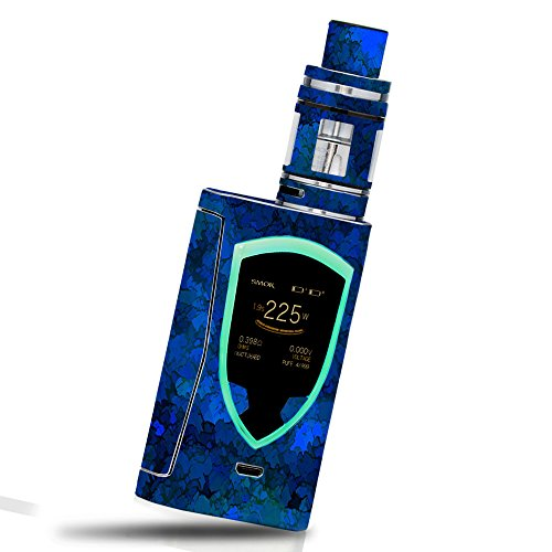 Skin for Smok ProColor 225W - Blue Ice  MightySkins Protective, Durable, and Unique Vinyl Decal wrap cover   Easy To Apply, Remove, and Change Styles   Made in the USA