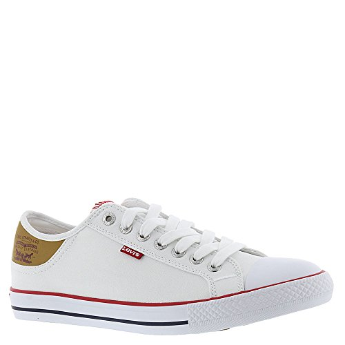 Levi's Men's Stan Buck White/Brown Casual Shoe 12 Men US