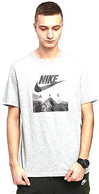 NIKE M NSW tee Air Photo Camiseta de Manga Corta, Hombre, dk Grey ...