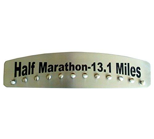 Half Marathon – 13.1 Miles Medal Hanger Display by Blue Diamond Athletic Displays