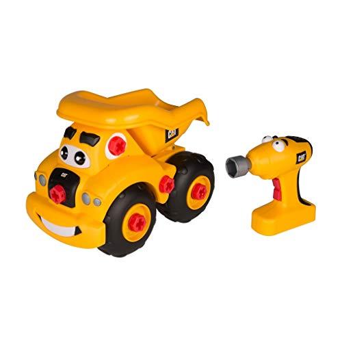 Toystate CAT Dumptruck Building Crew