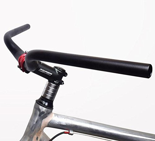 New Black Stem Riser Adapter Bicycle Bike Fixie BMX Comfort 22.2mm Steel