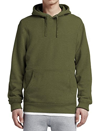 Hat and Beyond HC Mens Pullover Hoodie Heavyweight Fleece Pocket Long Sleeve Active Hooded Sweatshirts
