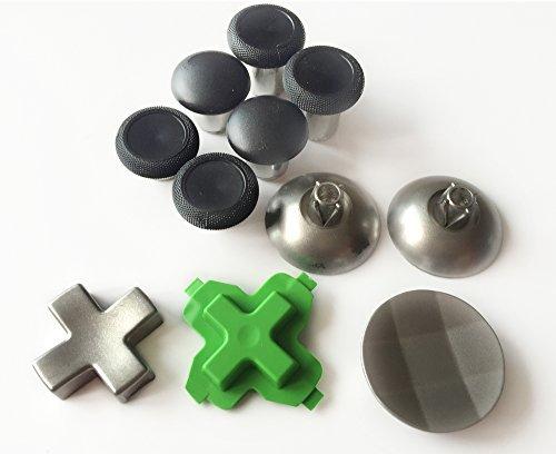 Hisonders Replacement Part Swap Thumbsticks Joysticks and D-pads (11 pcs) for Xbox one Elite Controller ()