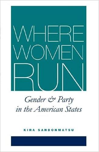 Downloads von E-Books Where Women Run: Gender and Party in the American States by Kira Sanbonmatsu PDF FB2