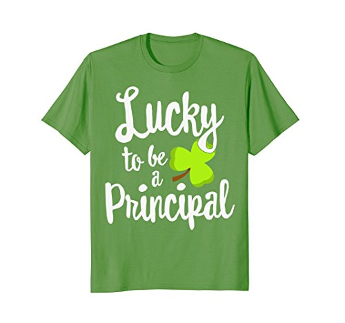 Lucky To Be A Principal St  Patricks Day T Shirt