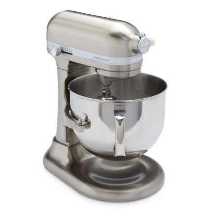 KitchenAid Pro Line KitchenAid Pro Line Nickel Stand Mixer KSM7588PNK, 7 qt, Brushed Nickel