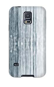 6815247K40295507 New Strip C Blue White Lines Tpu Case Cover, Anti-scratch Phone Case For Galaxy S5