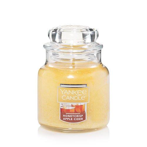 Yankee Candle Honeycrisp Apple Cider Small Jar Candle, Fruit Scent