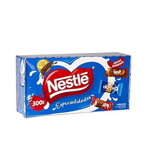 Nestle - Especialidades - Assorted Bonbons Specialties - 10.58 ounces | Caixa de Bombons Sortidos - 300grams (Garoto Candy)