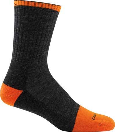 Darn Tough Steely Micro Crew Cushion Socks - Men's Graphite X-Large by Darn Tough