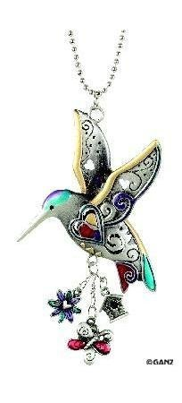 Hummingbird Charm (1 X Hummingbird Color Car Charm)