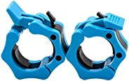 """Greententljs 2 Inch Barbell Clamps Quick Release Pair of Locking 2"""" Inch Pro ABS Locking Olympic Size Wor"""