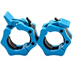 Greententljs Olympic Barbell Clamps 2 inch Quick Release Pair of Locking 2″ Pro Olympic Weight Bar Plate Locks Collar Clips for Workout Weightlifting Fitness Training