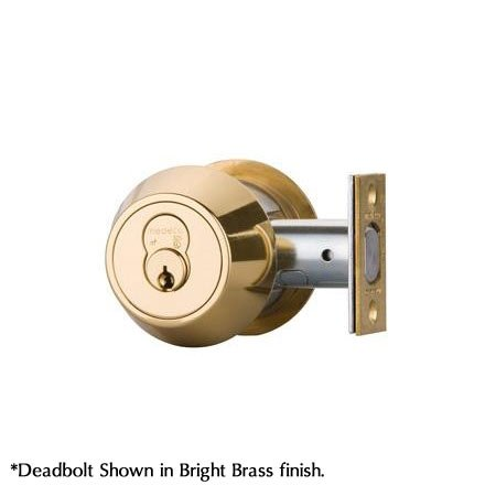 Single Cylinder Deadbolt Keyed Type: Keyed Alike, Finish: Oil Rubbed Bronze