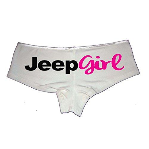 Jeep Girl Booty Shorts Boyshort Cotton Bikini Bottom Sexy Panties