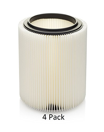Craftsman & Ridgid Replacement Filter 4 pack by Kopach