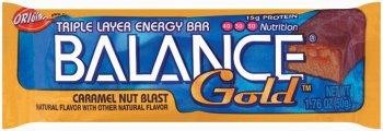 Blast Caramel Nut Bar Balance (Balance Bar Gold CARM/Nut Size 1.76z Balance Bar Gold Caramel/Nut 1.76z Ea)