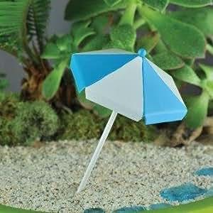Águila jardín de hadas miniatura Playa paraguas # 16884