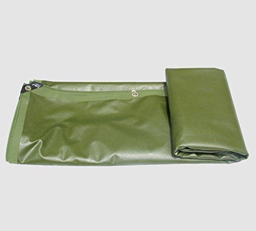 ペルセウス不信夫テント 雨布厚い断熱テント防水布雨布防水布厚いプラスチックシート様々なサイズのパンチングロープキャンバス (サイズ さいず : 3 * 3M)