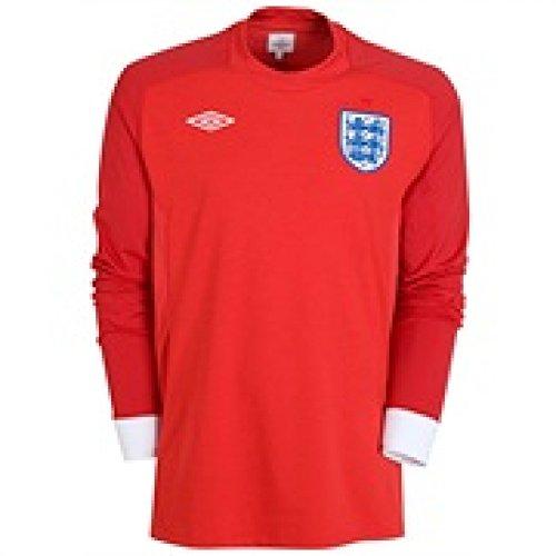 Umbro 2010-11 England World Cup Long Sleeve Away Shirt (Terry Umbro John)
