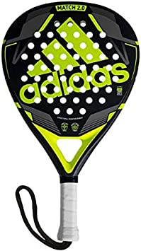 All for Padel Match 2.0 Pala de pádel, Adultos Unisex, Lime, Talla Única