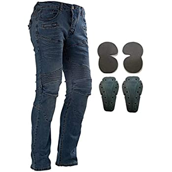 Amazon.com: Motorcycle Pants Riding Denim Jeans Racing ...