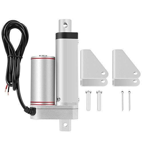 Actuador lineal de 50 mm de carrera Actuadores lineales de movimiento lineal eléctrico de alto rendimiento de 24 V y 750 N...