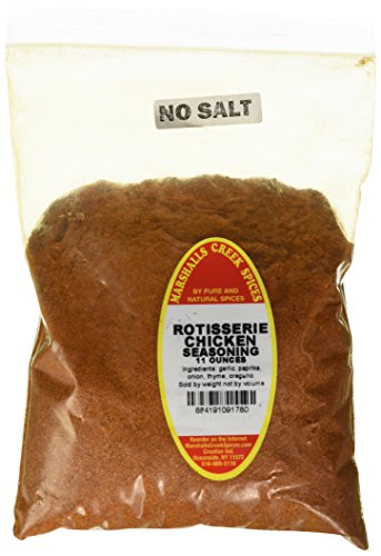 Marshalls Creek Spices Refill Pouch No Salt Seasoning, Rotisserie Chicken, 11 Ounce