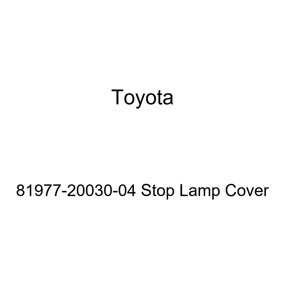 TOYOTA Genuine 81977-20030-04 Stop Lamp Cover